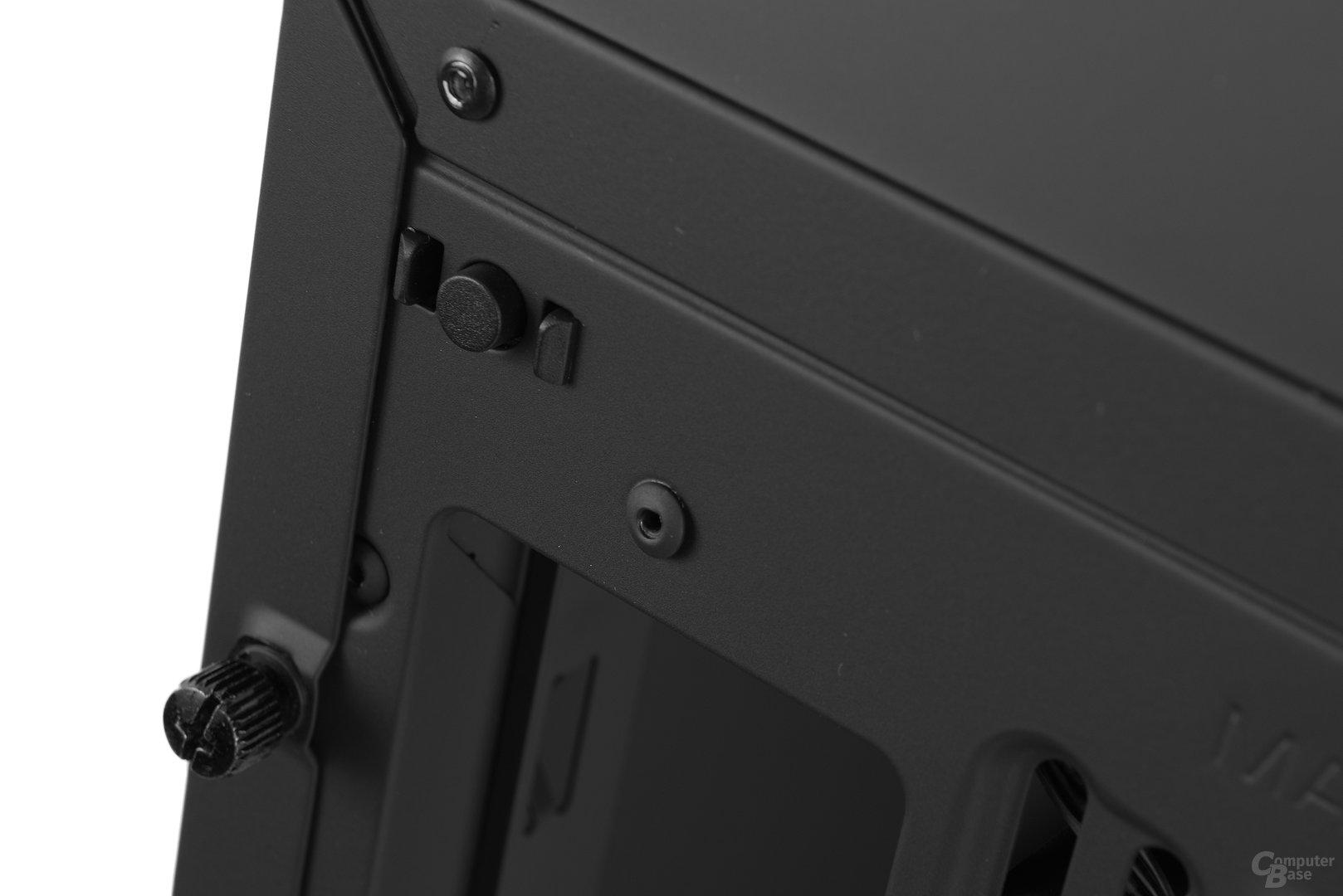 NZXT Noctis 450 – LED-Schaltknopf