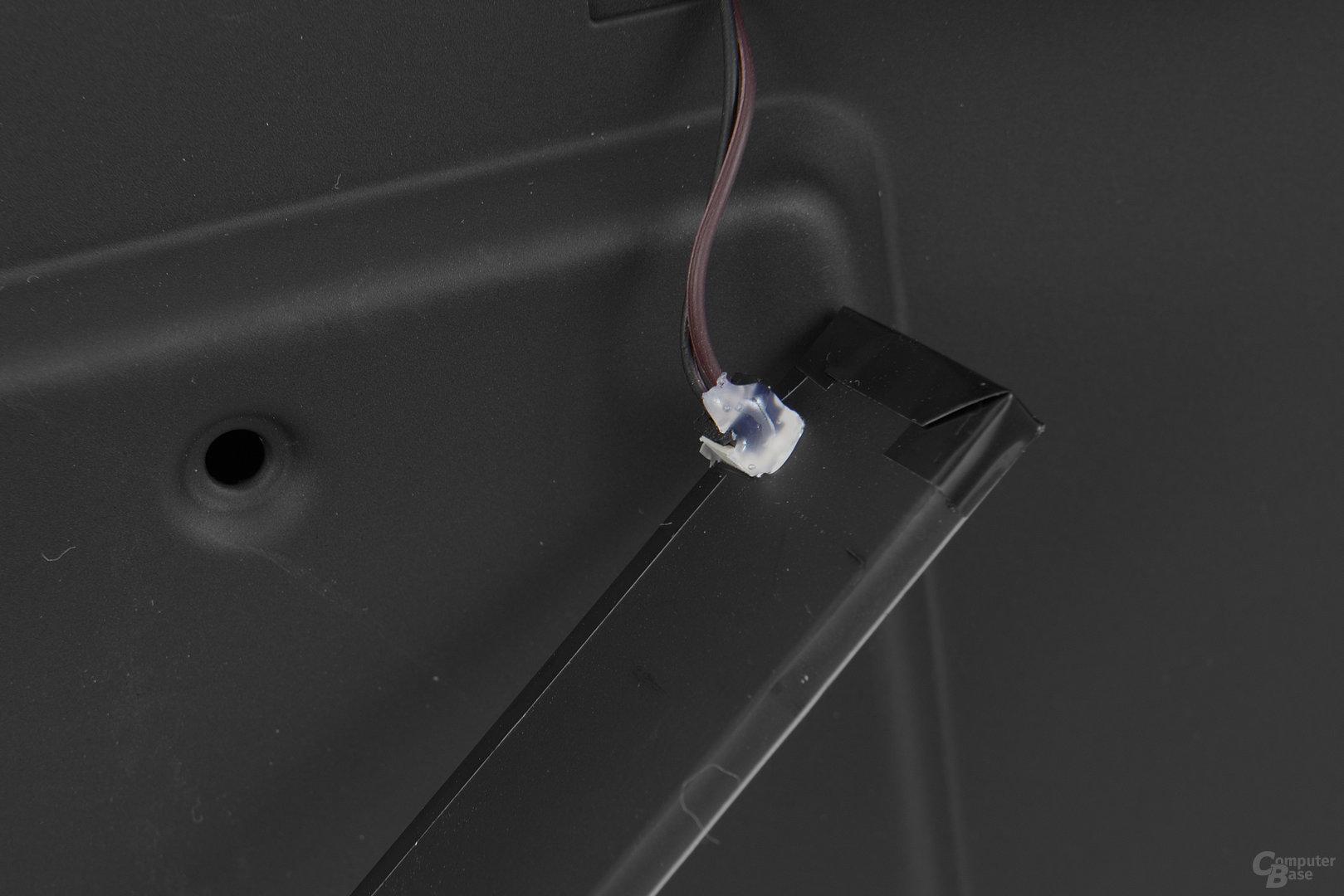NZXT Noctis 450 – Eingelassene LED