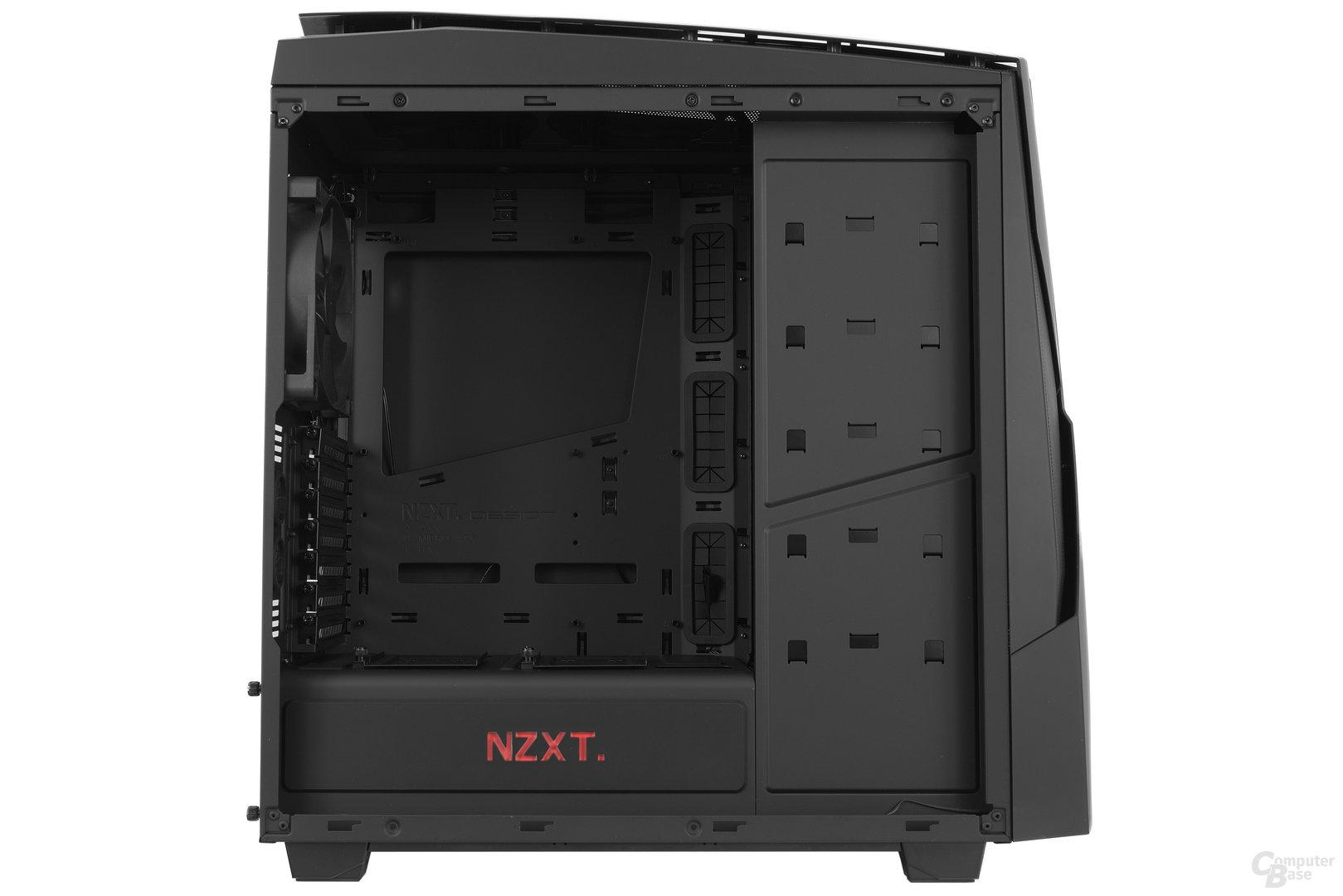 NZXT Noctis 450 – Innenraumansicht