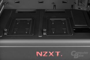 "NZXT Noctis 450 – Zwei 2,5""-Festplattenbrackets"