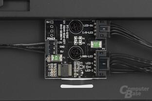 NZXT Noctis 450 – LED-Platine