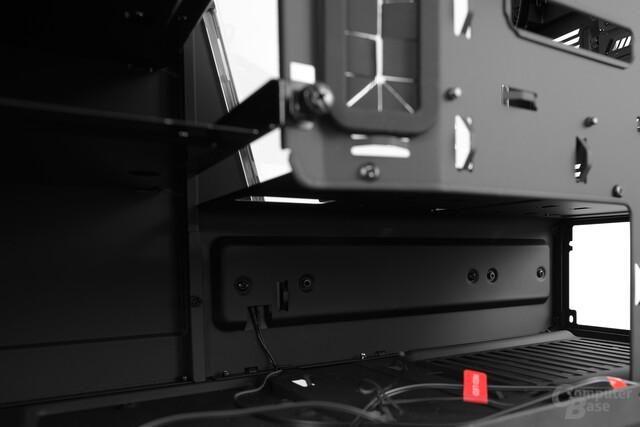 NZXT Noctis 450 – Position des Netzteils