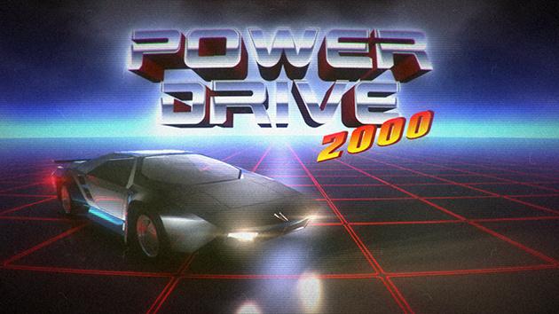 Power Drive 2000: Arcade-Racer im 80er-Look startet auf Kickstarter