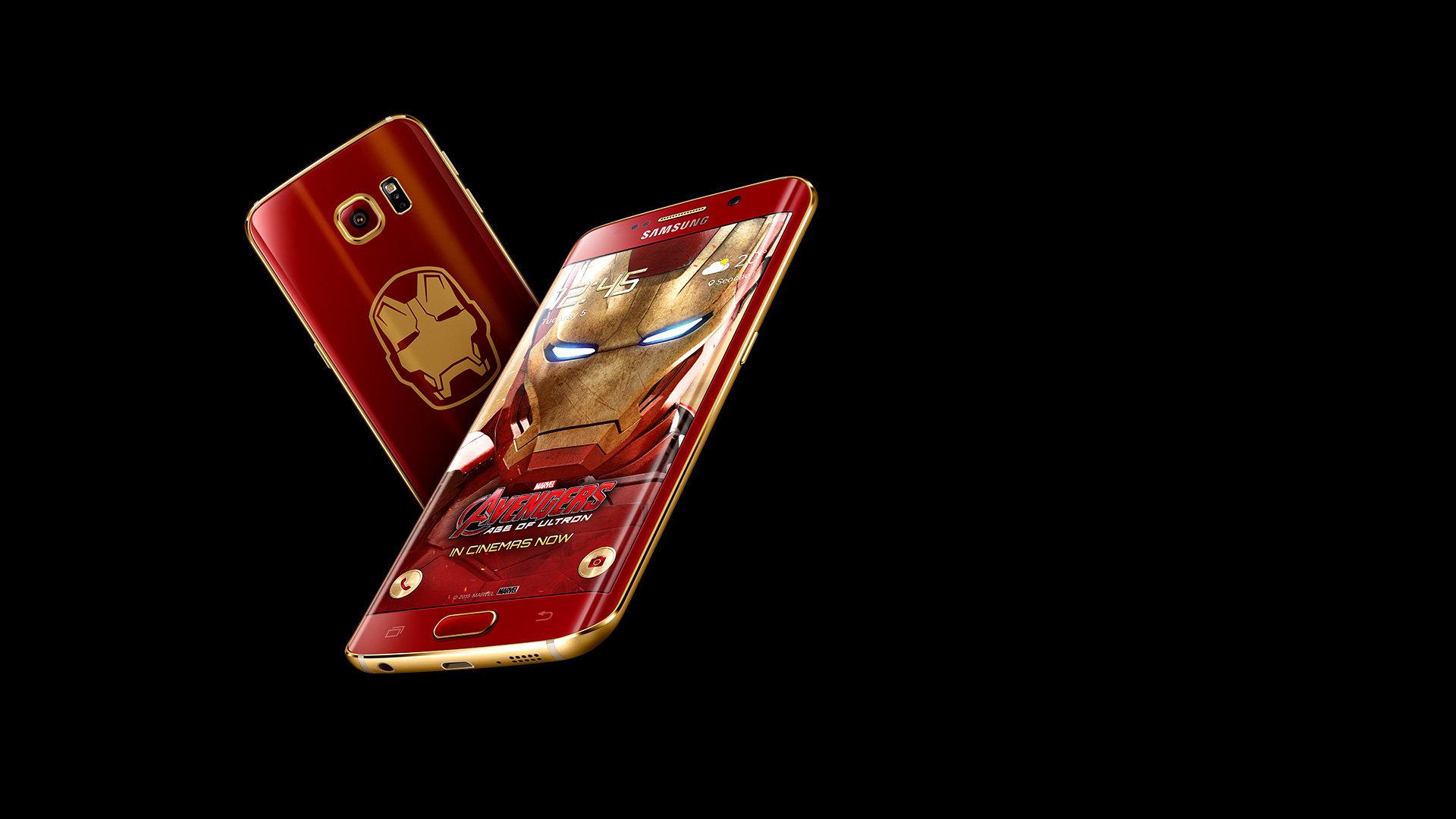 Samsung Galaxy S6 edge – Iron-Man-Edition