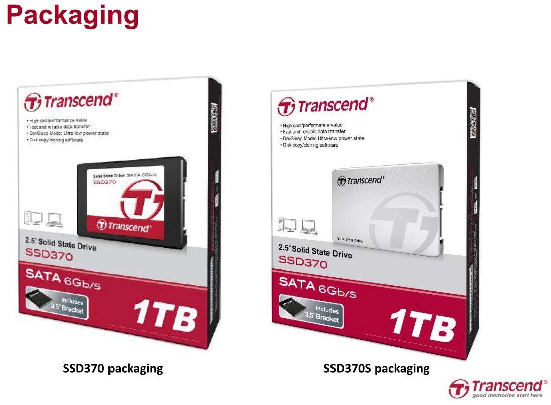 SSD370S wird weiter als SSD370 vermarktet