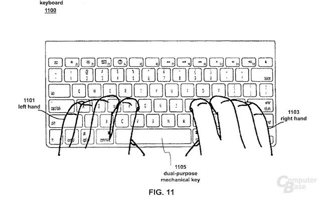 "Skizze des ""Fusion Keyboard""-Konzeptes"