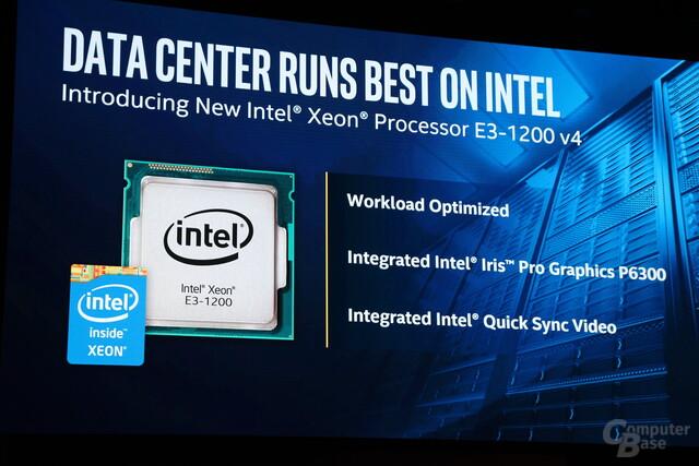 Enthüllung der neuen Xeon-Broadwell-CPUs mit Iris Pro P6300 zur Computex 2015