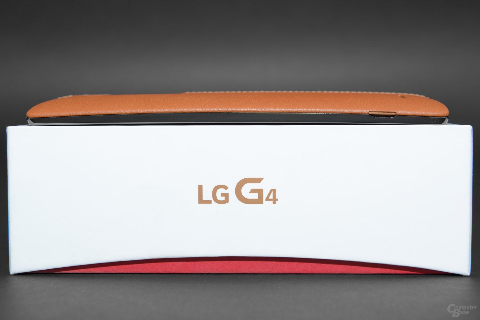 Das leicht gebogene LG G4 im Test