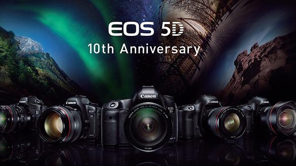 Canon EOS 5D: Vollformat-DSLR feiert den 10. Geburtstag