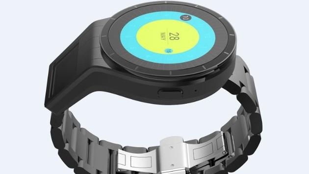 Lenovo Magic View: Smartwatch-Konzept mit zwei Bildschirmen