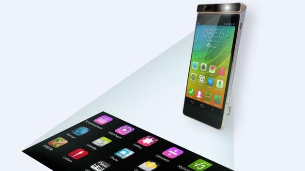 Lenovo Smart Cast: Smartphone macht den Tisch zum Touchscreen