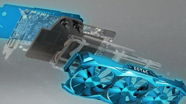 GeForce GTX Titan X ArcticStorm: Zotac mit Alternativkühler für Wasser und Luft