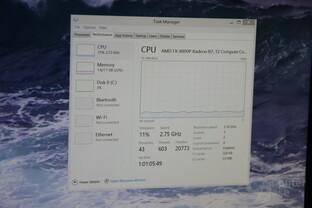 Nur rund zehn Prozent CPU-Last bei 4K-HEVC-Wiedergabe