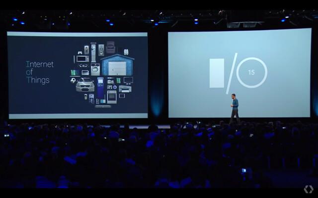 IoT bei der I/O Keynote