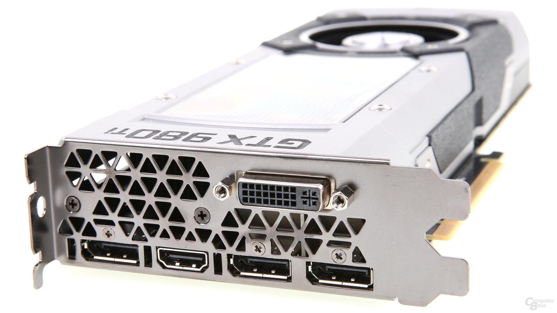 GeForce GTX 980 Ti - Monitor-Anschlüsse