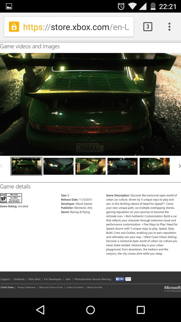 Eine kurzzeitige Listung im Xbox-Store verrät weitere Details