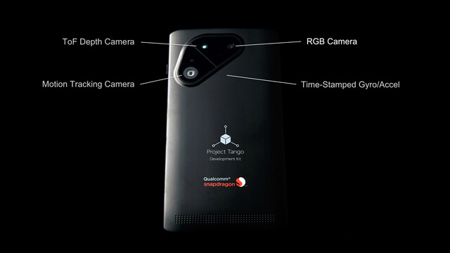 Project Tango Smartphone-Entwicklerplattform