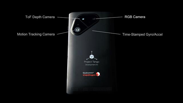 Project Tango Smartphone-Entwicklerplattform