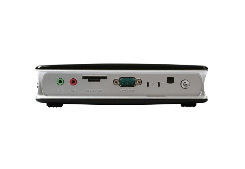 ZBox MA760 – die Front mit kombiniertem Kartenleser und USB-Port