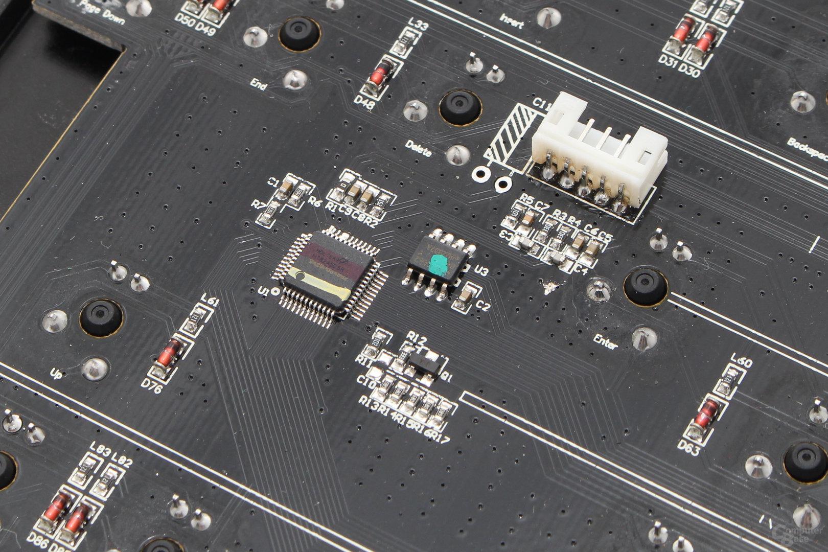 ARM-Mikroprozessor des Typs Holtek HT82A525R