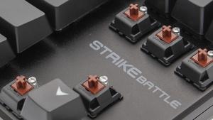 Ozone Strike Battle im Test: Konsequent kompakte Tastatur mit Beleuchtung