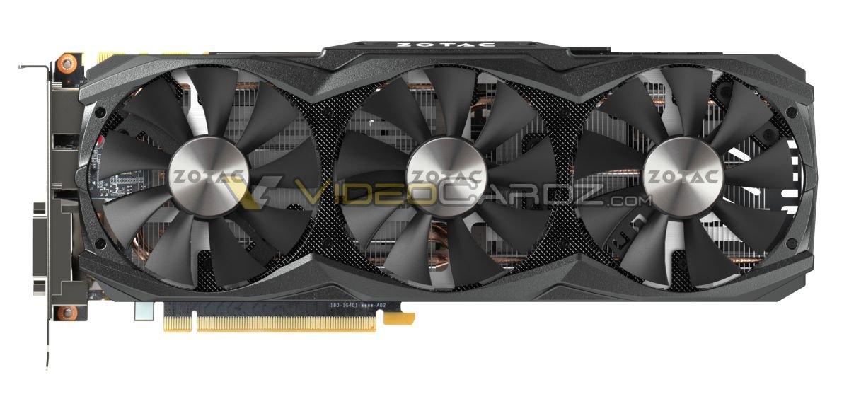 Zotac GeForce GTX 980 Ti AMP! – Triple-Fan-Kühllösung bei Taktraten des Grafikchip von bis zu 1.140 MHz