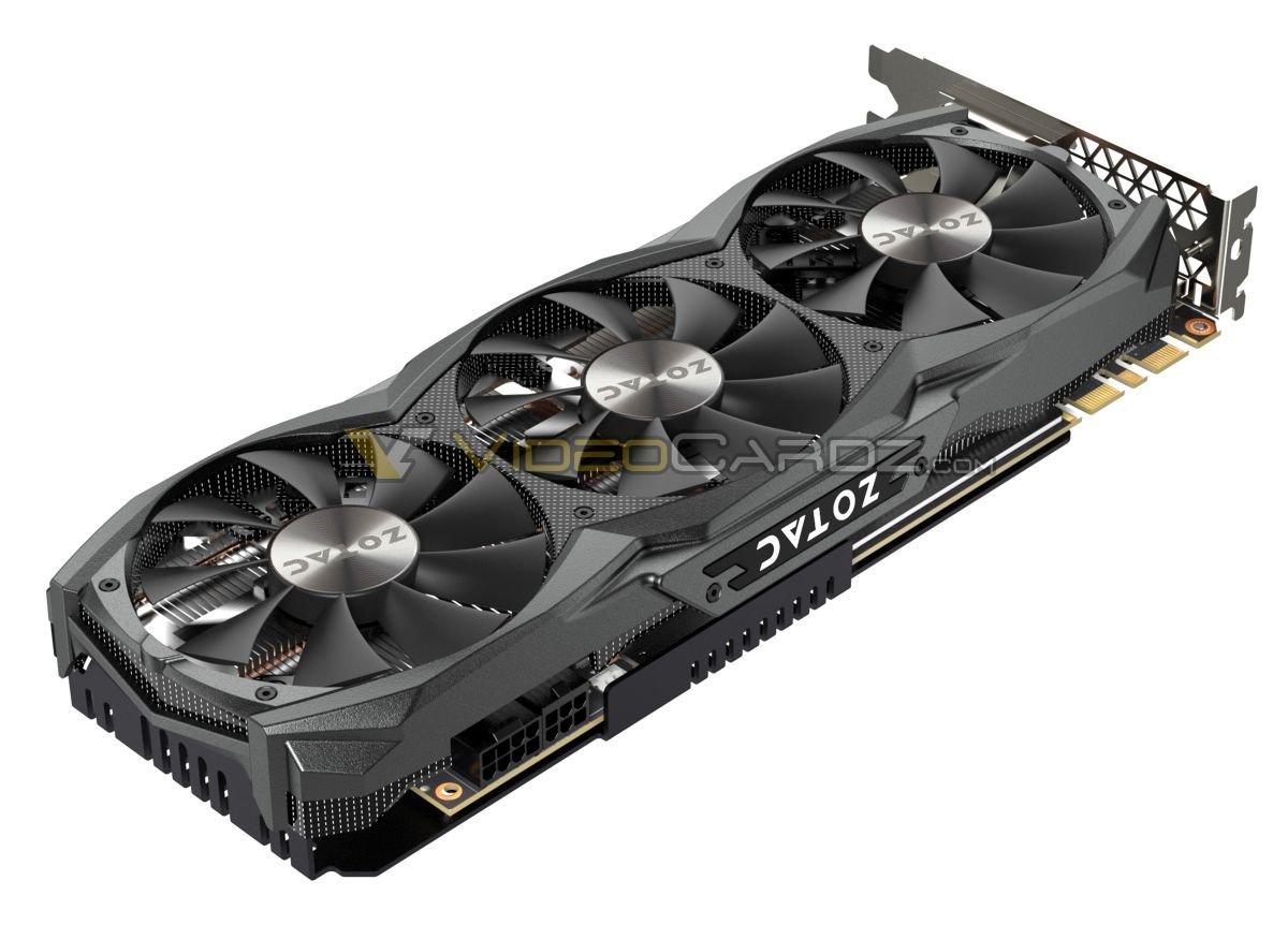 Zotac GeForce GTX 980 Ti AMP! – Dreifach-Lüfter im Zwei-Slot-Design