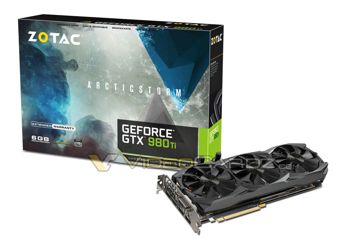 Zotac GeForce GTX 980 Ti ArcticStorm – ZT-90502-10P-1