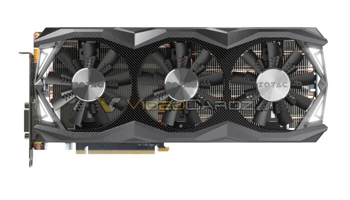 Zotac GeForce GTX 980 Ti AMP! Extreme – Triple-Fan-Kühllösung im Drei-Slot-Design