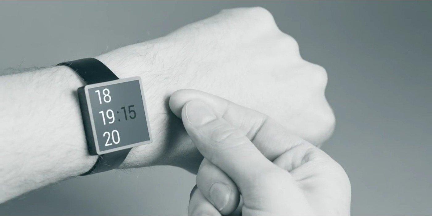 Gestensteuerung einer Smartwatch