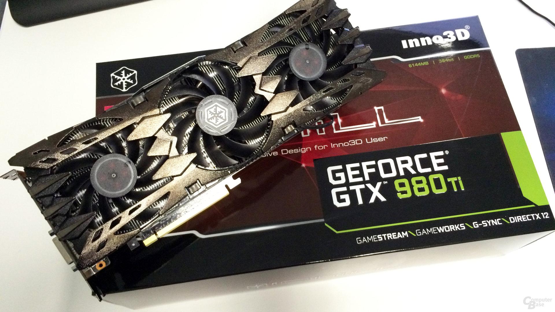 Inno3D iChill GeForce GTX980Ti X3 Ultra