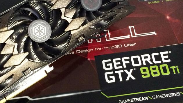 GeForce GTX 980 Ti: Erste Partnerkarte von Inno3D eingetroffen