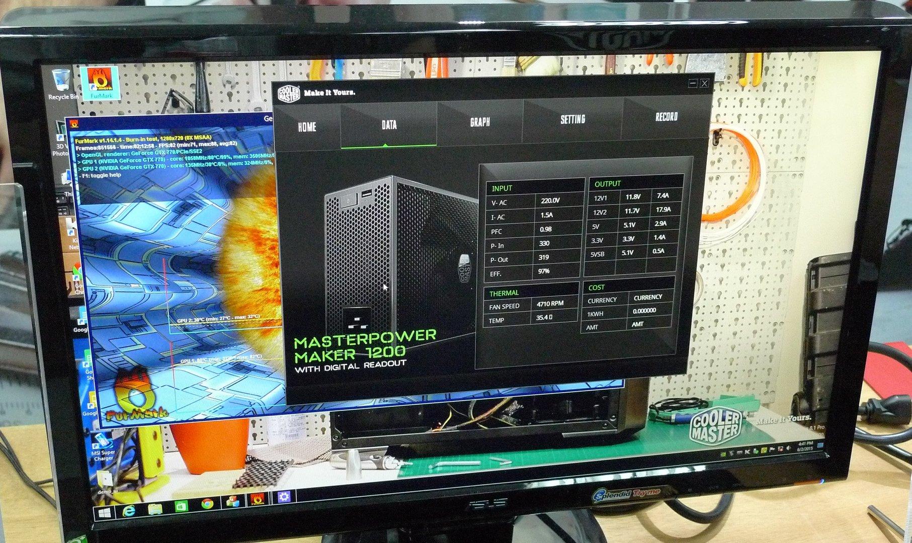 Cooler Master Masterpower Maker – Software