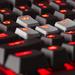 Spieletastatur: Corsairs neues Einstiegsmodell heißt Strafe und leuchtet rot