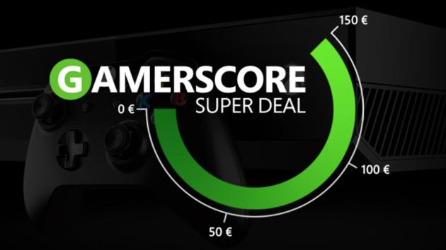 Xbox One: Bis zu 150 Euro Rabatt durch Gamerscore