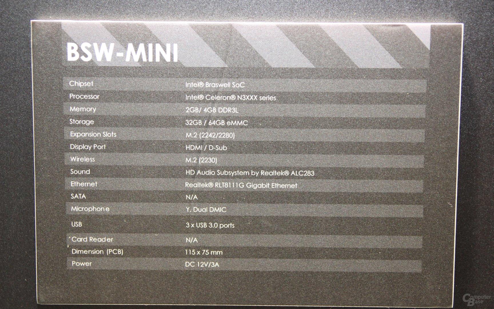 Elitegroup Liva X² -Mainboard