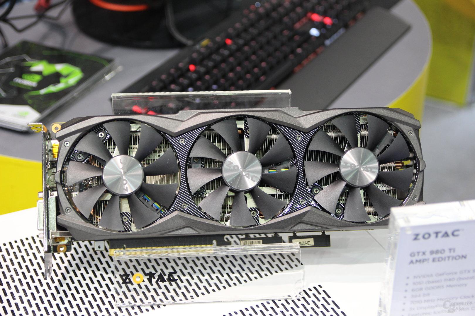 Zotac GeForce GTX 980 Ti AMP!