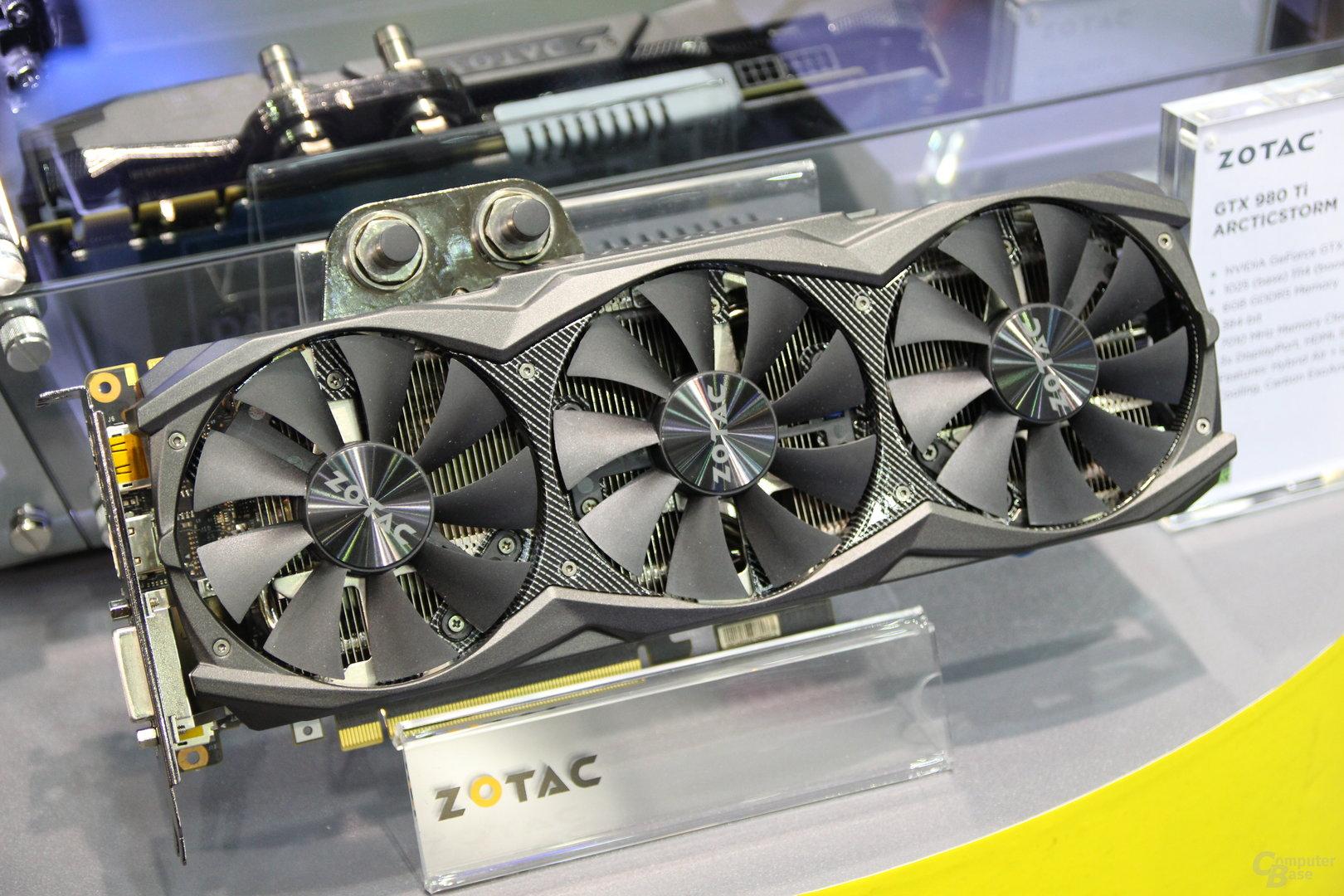 Zotac GeForce GTX 980 Ti AMP! Articstorm