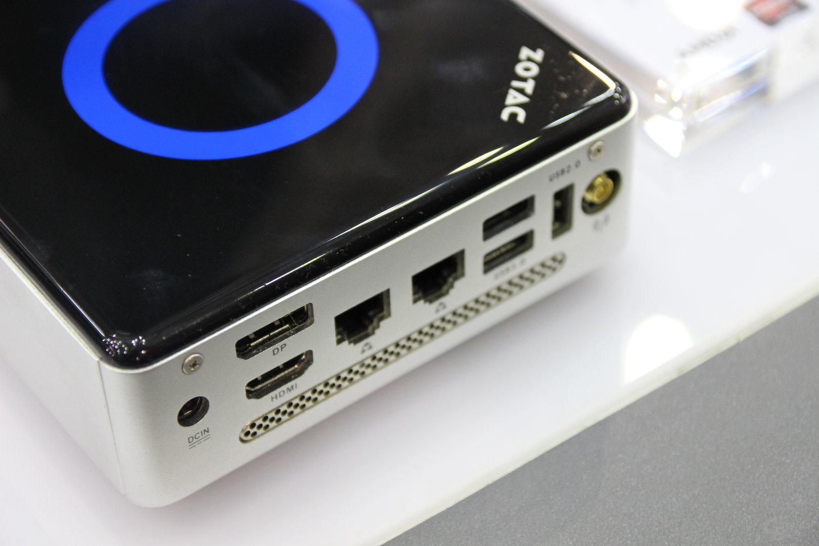 Zotac ZBox Nano mit AMDs Carrizo-APU
