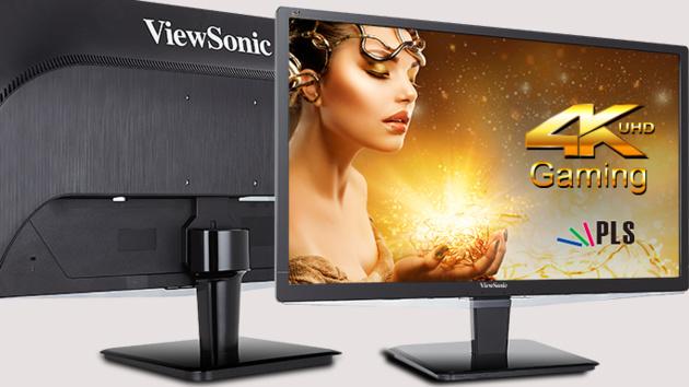 ViewSonic VX2475Smhl-4K: 24-Zoll-UHD-Monitor mit HDMI 2.0 für 449 Euro