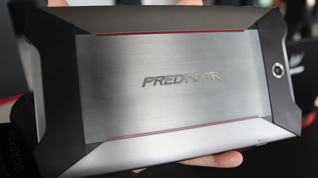 Gaming-Tablet: Acer Predator mit Force Feedback kommt mit Intel Atom x7