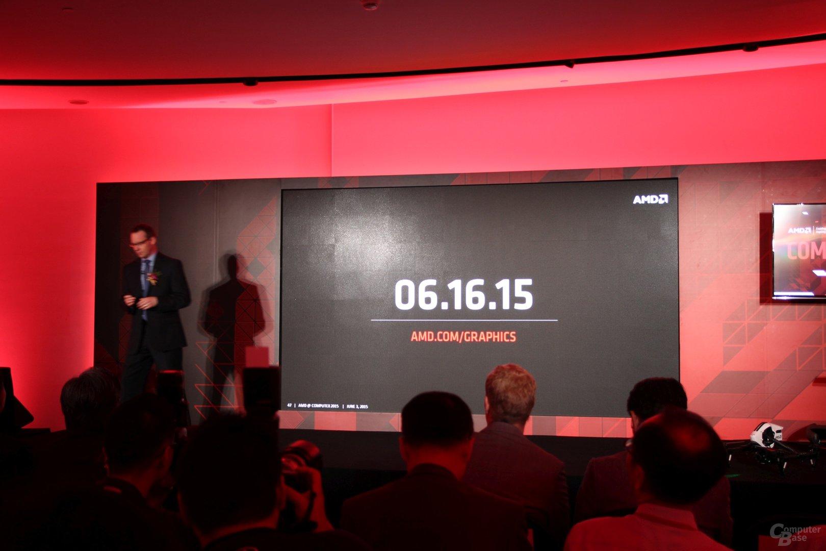 AMD Radeon R9 300 – Startdatum
