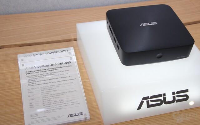 Asus VivoMini mit Skylake-CPU und Iris Pro