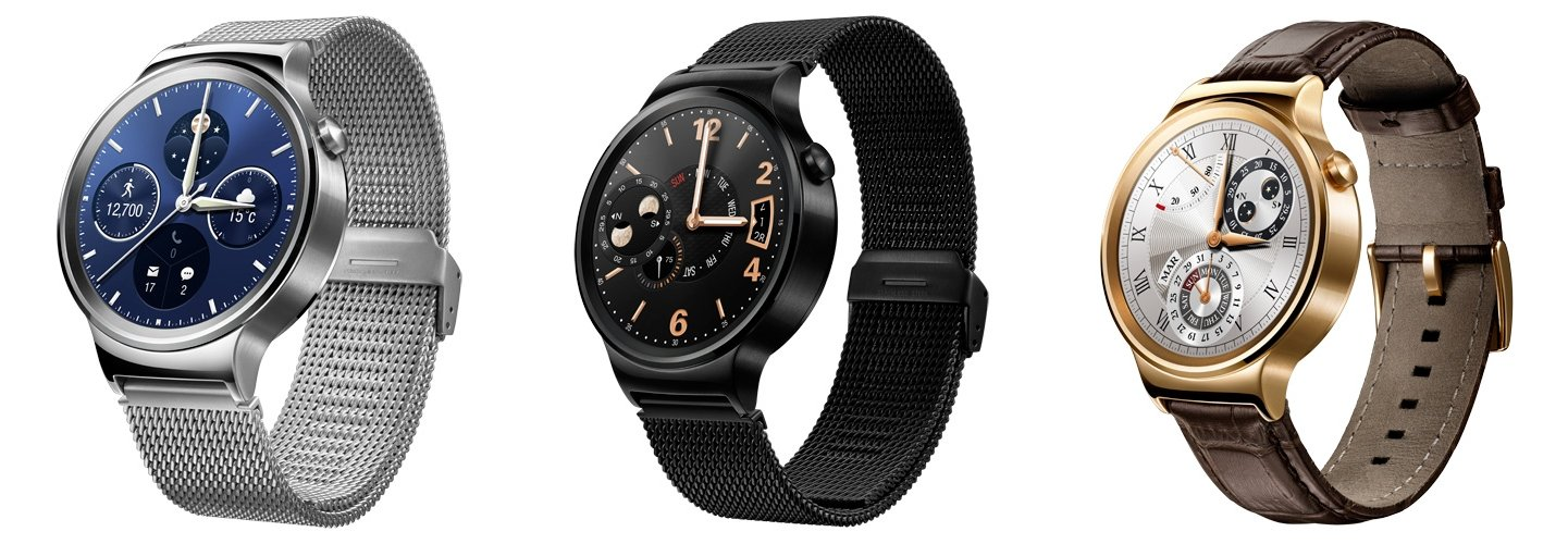 Huawei Watch Classic, Active und Elite
