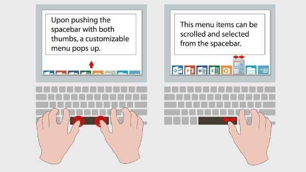 SmartBar: Leertaste mit Touch-Oberfläche von Synaptics