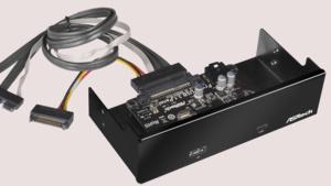 ASRock: Frontpanel mit USB 3.1 und Typ-C-Stecker nutzt SATA Express