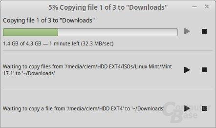 Neue Handhabung von Dateioperationen