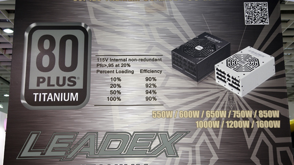 Super Flower: Leadex-Serie nun komplett ab 550 Watt mit 80Plus Titanium