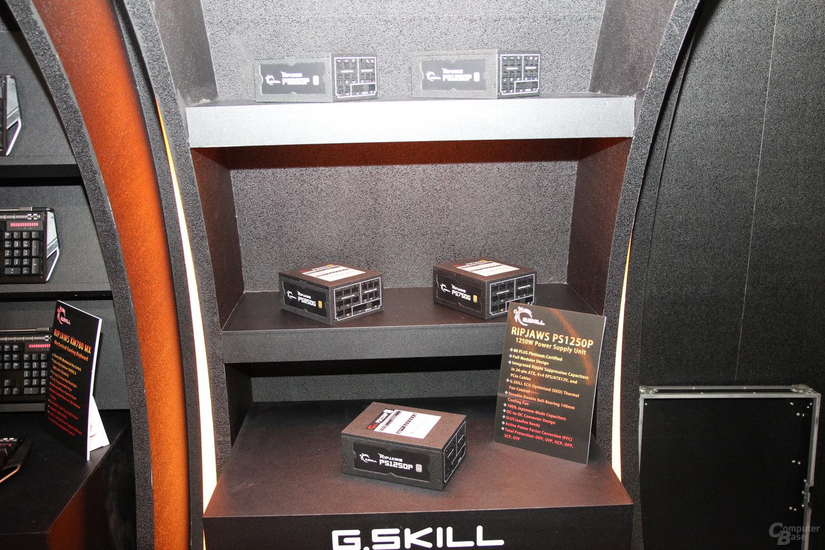 G.Skill-Netzteile zur Computex 2015