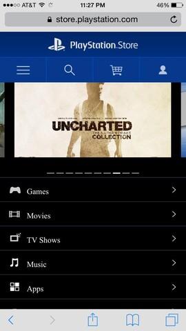 """Ein Banner in Sonys Webshop verrät die """"Nathan Drake Collection"""""""